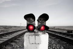 信号终止 免版税库存照片