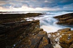 ύδωρ πετρών τοπίων Στοκ φωτογραφίες με δικαίωμα ελεύθερης χρήσης