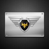 крыла экрана орла Стоковое Изображение