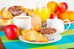 таблица завтрака Стоковая Фотография RF
