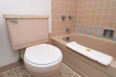 内部简单的洗手间 免版税库存图片