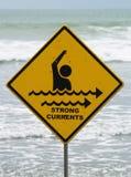 течения подписывают сильную Стоковая Фотография RF
