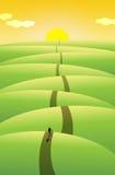 путешествие длиной Стоковое Изображение RF