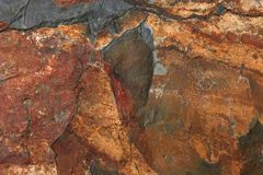 自然板岩 免版税库存图片