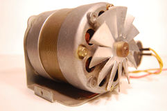 электрический двигатель Стоковые Фотографии RF