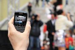 κινητά τηλεφωνικά αρχεία Στοκ Φωτογραφία