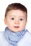 好婴孩美丽的眼睛 免版税库存照片