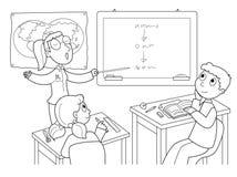 教室 库存照片
