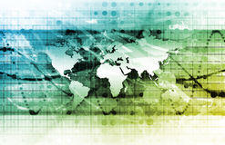 全球管理 免版税库存图片