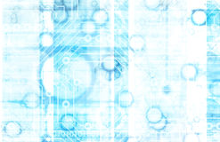 информационная технология Стоковое фото RF