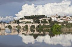 罗马的桥梁 库存照片