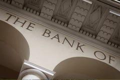 银行大楼 免版税库存图片