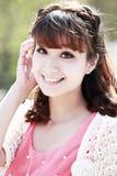 亚洲模型年轻人 免版税库存照片
