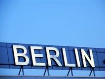 在天空的柏林 库存照片