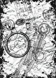лист пергамента светокопии Стоковые Фотографии RF
