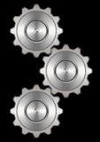 система металла шестерни Стоковые Изображения RF