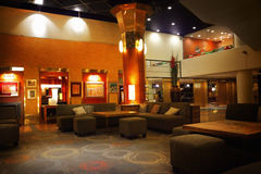 гостиница залы Стоковое Фото