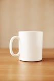 придайте форму чашки белизна Стоковые Изображения RF