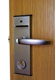 门开锁 免版税库存照片