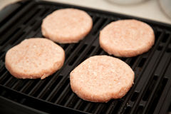 汉堡烤原始的火鸡 免版税库存图片