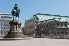 κράτος Βιέννη οπερών Στοκ Φωτογραφίες