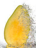 起泡的芒果 库存图片