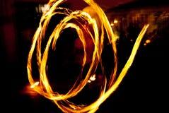 火跟踪 免版税库存图片