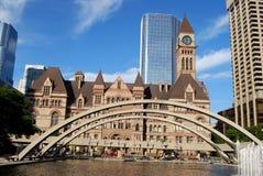 市政厅多伦多 库存照片