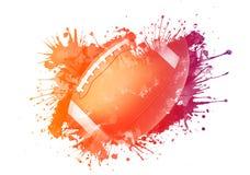 футбол американского шарика Стоковые Фотографии RF