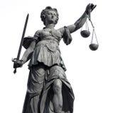 正义夫人 免版税库存照片