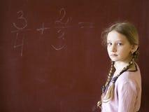 女小学生 免版税图库摄影
