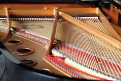 全部被开张的钢琴 免版税库存图片