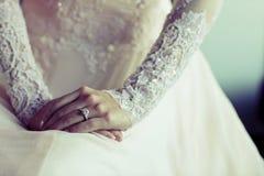 礼服婚礼 免版税库存图片