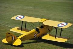 тигр сумеречницы самолет-биплана Стоковая Фотография RF