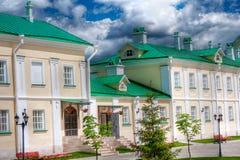 χτίζοντας πράσινη στέγη Στοκ φωτογραφία με δικαίωμα ελεύθερης χρήσης