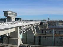 σταθμός παραγωγής ηλεκτρικής ενέργειας Στοκ εικόνα με δικαίωμα ελεύθερης χρήσης
