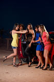 партия девушок Стоковые Фотографии RF