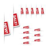 销售额标签 免版税库存图片