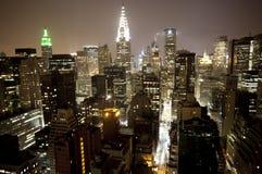 曼哈顿地平线 免版税库存图片