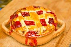 φράουλα πιτών Στοκ φωτογραφία με δικαίωμα ελεύθερης χρήσης