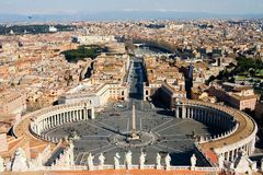 罗马视图 免版税库存照片