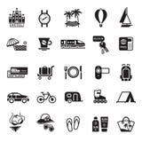 重新创建符号旅行假期 库存图片