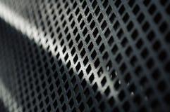 металл сетки крупного плана глянцеватый Стоковые Фотографии RF