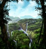 джунгли Стоковые Фото