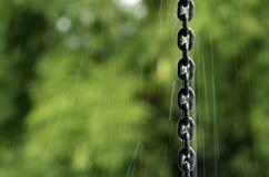 链排水管 库存照片