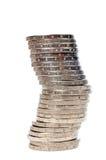 стог монеток Стоковые Фотографии RF