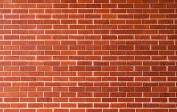 νέος τοίχος τούβλου Στοκ φωτογραφία με δικαίωμα ελεύθερης χρήσης