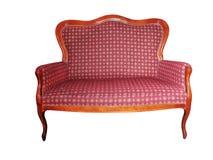 античное кресло Стоковая Фотография