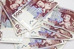 шведский язык валюты Стоковая Фотография