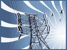 высокая линия сила Стоковое фото RF